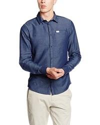 blaues Langarmhemd von BLEND