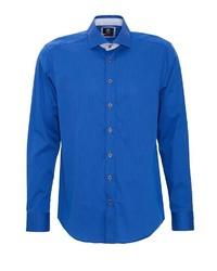 blaues Langarmhemd von GABANO