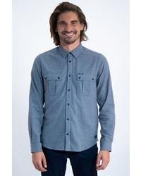 blaues Langarmhemd von GARCIA