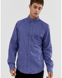 blaues Langarmhemd von J.Crew Mercantile