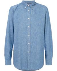 blaues Langarmhemd von Paul Smith
