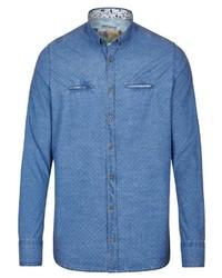 blaues Langarmhemd von Rich Friday