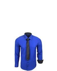 blaues Langarmhemd von RUSTY NEAL