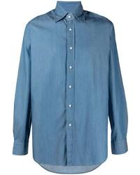blaues Langarmhemd von Tagliatore