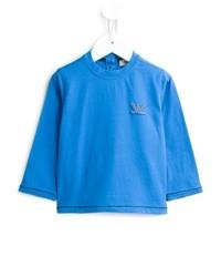 blaues Langarmshirt von Armani Junior