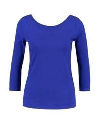 blaues Langarmshirt von J.Crew