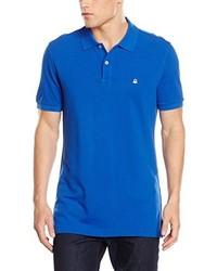 blaues Polohemd von Benetton