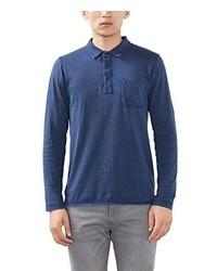 blaues Polohemd von Esprit
