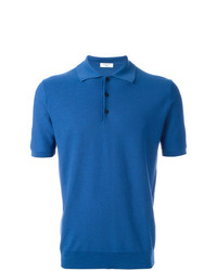 blaues Polohemd von Fashion Clinic Timeless