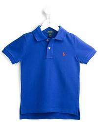 blaues Polohemd von Ralph Lauren