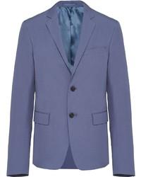 blaues Sakko von Prada