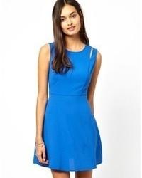 blaues Skaterkleid von Glamorous