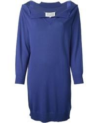 blaues Sweatkleid von Maison Margiela