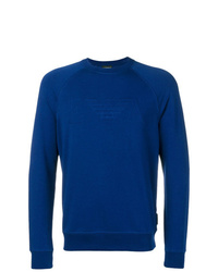 blaues Sweatshirt von Emporio Armani