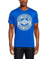 blaues T-shirt von Diesel