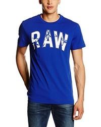 blaues T-shirt von G-Star RAW