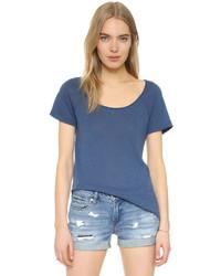 blaues T-shirt von Splendid