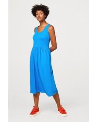 blaues Trägerkleid von Esprit