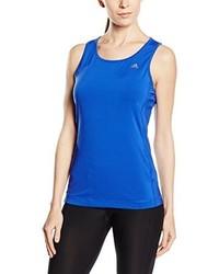 blaues Trägershirt von adidas