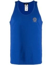 blaues Trägershirt von Versace