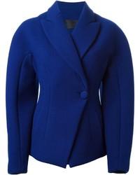 blaues Wollsakko von Proenza Schouler