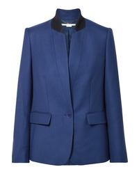 blaues Wollsakko von Stella McCartney
