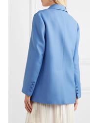 blaues Wollzweireiher-sakko von Valentino