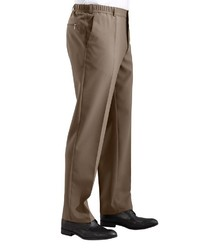 braune Anzughose von Classic