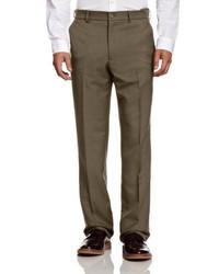 braune Anzughose von Farah Classic