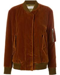 braune Baumwolle Bomberjacke von Golden Goose Deluxe Brand