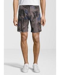 braune bedruckte Shorts von Replay
