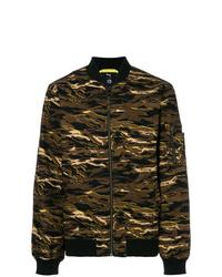 braune Camouflage Bomberjacke von Puma