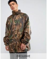 braune Camouflage Militärjacke