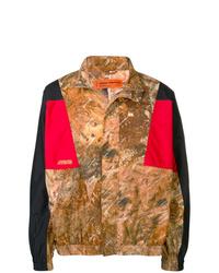braune Camouflage Shirtjacke