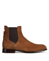 braune Chelsea Boots aus Wildleder von Ermenegildo Zegna