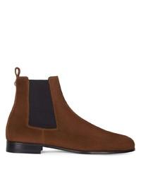 braune Chelsea Boots aus Wildleder von Giuseppe Zanotti