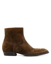 braune Chelsea Boots aus Wildleder von Golden Goose
