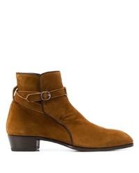 braune Chelsea Boots aus Wildleder von Lidfort