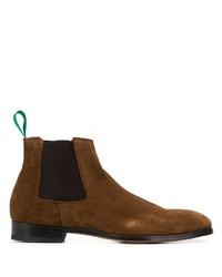 braune Chelsea Boots aus Wildleder von Paul Smith