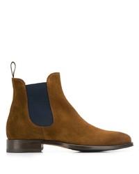 braune Chelsea Boots aus Wildleder von Scarosso