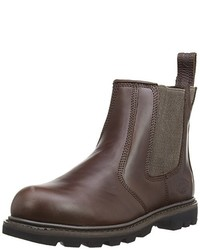 braune Chelsea Boots von Dickies