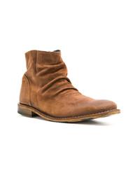 braune Chelsea-Stiefel aus Wildleder von Fiorentini+Baker