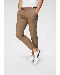 braune Chinohose von Selected Homme