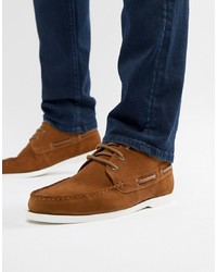 braune Chukka-Stiefel aus Wildleder von ASOS DESIGN