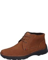 braune Chukka-Stiefel aus Wildleder von Bama