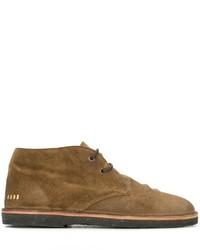 braune Chukka-Stiefel aus Wildleder von Golden Goose Deluxe Brand
