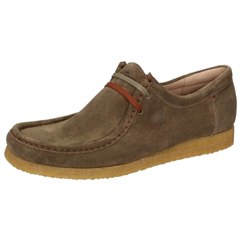 braune Chukka-Stiefel aus Wildleder von Grashopper