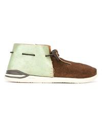 braune Chukka-Stiefel aus Wildleder von VISVIM