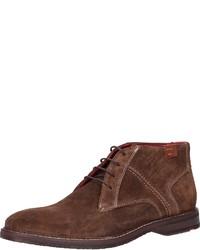 braune Chukka-Stiefel aus Wildleder von Lloyd