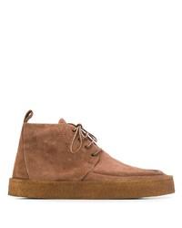 braune Chukka-Stiefel aus Wildleder von Marsèll